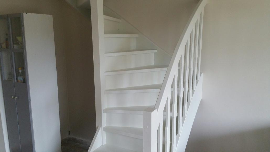 houten trap op maat